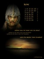 LoTR calendar 2009_June by Johny-and-Mary