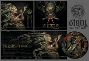 NUGEAR: CD-Artwork and Logo by FabioListrani