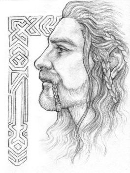 Fili - The heir with no crown by IngvildSchageArt