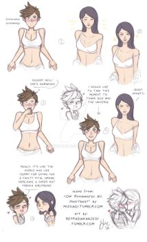 Heartbeat OW au .Widowtracer by sexyfairy