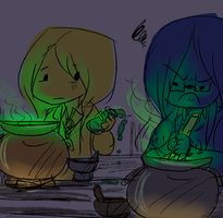 potions class failures by nikki-kun05