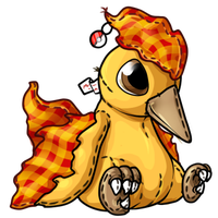 Moltres Patchwork Plushie Request by MegasArtsAndCrafts