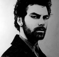 Aidan Turner by Nastyfoxy
