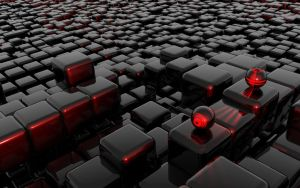 Red Cubes Invasion by hacker340