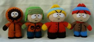 south park group shot by TheArtisansNook