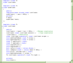 C++ Linked List Class Template by Moosader