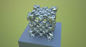 3D Fractal Printable Model by nic022