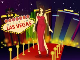 Night in Las Vegas by MizuuHime