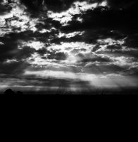Sky and Shadow (BlackandWhite) by RobertRobledo