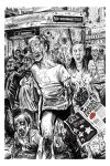 Bus Stop Zombies by carruthers