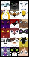 In Your Face Icon Batch 1 by AirRaiser