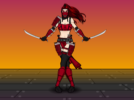 The Sanguine Assassin by Vectorman316