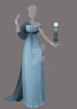 :: Commission August 04: Outfit Design :: by VioletKy