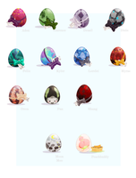 mage:: easter eggs by Rubisu