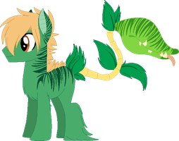 Midori and Verde by m00nstonee