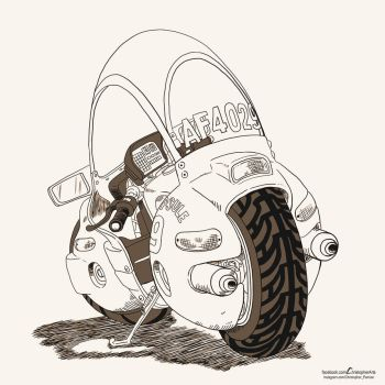 Motorcycle by changiz