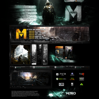 Metro Last Light by crYpeDesign