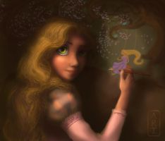 Rapunzel, adding to her gallery by Irina-Ari
