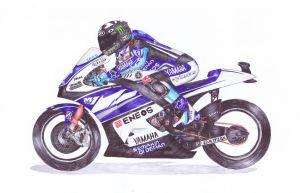 Ballpoint Pen, 11, Ben Spies by onecuriouschip