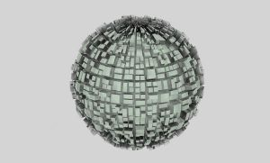 Plastic Modern Ball by Tebh-stock