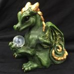 Treasure Keeper Happy Dragon Sculpture by The-GoblinQueen