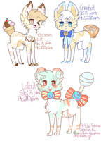 New species adopts by Foxesu