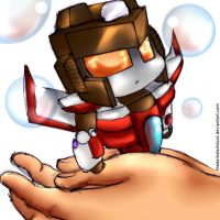 little chibi starscream armada by TheDarkstarlduxd