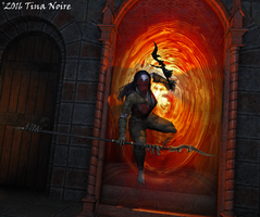 Though the Looking Glass by TNoire