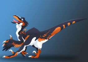 DNK Raptor by Dinkysaurus