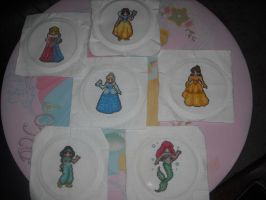 Princess Cross Stitches by chrisluver142003