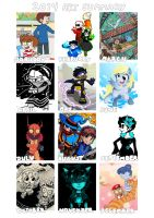 2014 art summary by Valerei