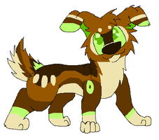 .: Corgi OC, Mint (updated ref) :. by imintygemini
