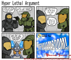 Hyper Lethal Argument by BrokenTeapot