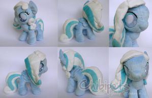 Snowdrop custom plush by Chibi-pets