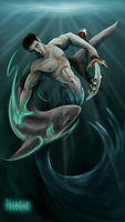 The Shark Tamer by Phoenix-Cry