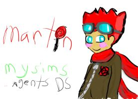 martin from mysims agents DS by OFFPuppetteer