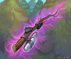 Gas Powered Stick Deluxe 2014 by rzanchetin