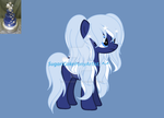 Blue star cake dessert custom for Nazaynia! by SugariSweetLolita