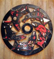 Haida Salmon Wheel by Photos-By-Michelle