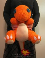 Jumbo Charmander by SBuzzard