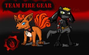 Enter Team Fire Gear by RavarokJudge