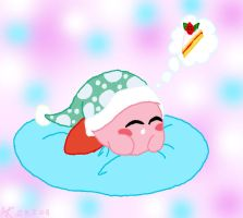 Sweet Dreams Kirby by AshRob89