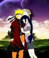Mr and Mrs uzumaki by Bleach-Fairy