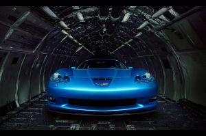 Corvette C6 z06 front version2 by dejz0r
