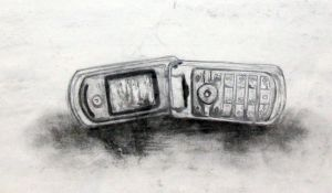 Cell phone by MuseInOnlyColors
