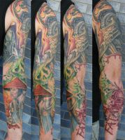 Mortal Kombat Sleeve... by graynd