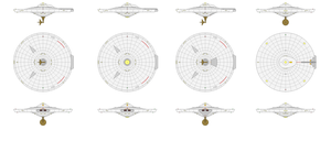 TOS Saucer Corrections and Detailing by adrasil