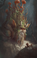 Forest spirit by zacretz