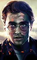 harry potter by fungila
