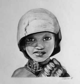 African Boy by JamesF63